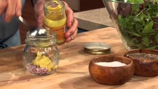 Jacques Pépin Techniques: How to Make Vinaigrette Salad Dressing