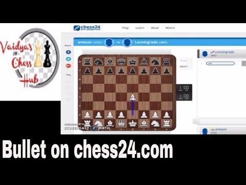 Bullet Chess on chess24.com
