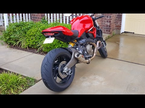 Ducati Monster Tail Tidy