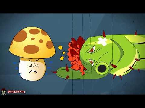 La aventura de plantas vs zombies 28 youtube for Cuartos decorados de plants vs zombies