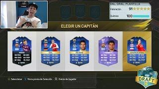 A POR EL MEJOR FUT DRAFT!!! FIFA 16