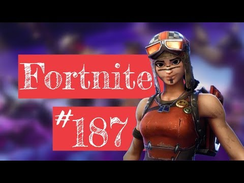 Fortnite Live #187 (Renegade Raider / Top Console Player / PS4 / Funny / Week 10)
