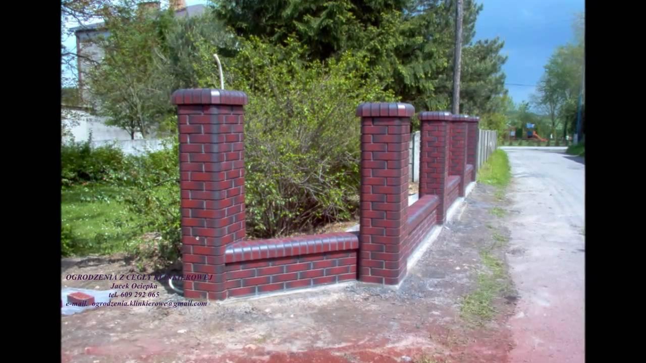 Ogrodzenia Klinkierowe Jacek Ociepka Cegla Crh Fences Clinker