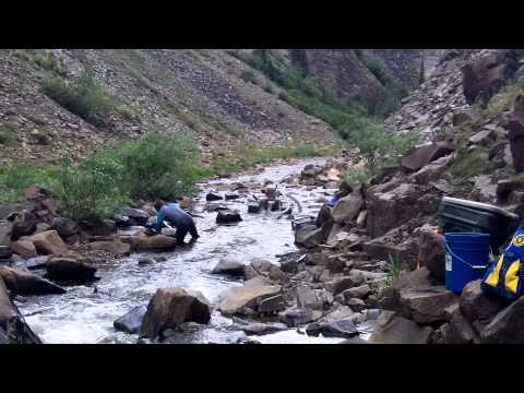 alaska gold claim/dredging