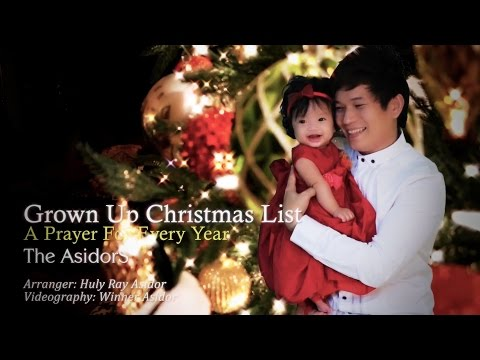 Grown Up Christmas List / A Prayer For Every Year - The AsidorS (2014 Cover)