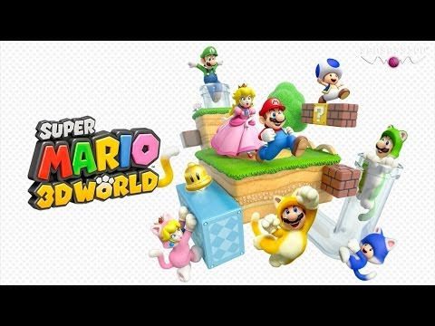 Super Mario 3D World Análisis Sensession 1080p