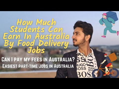 How much money students in Australia can make by food delivery jobs | #UberEats #Menulog #Deliveroo