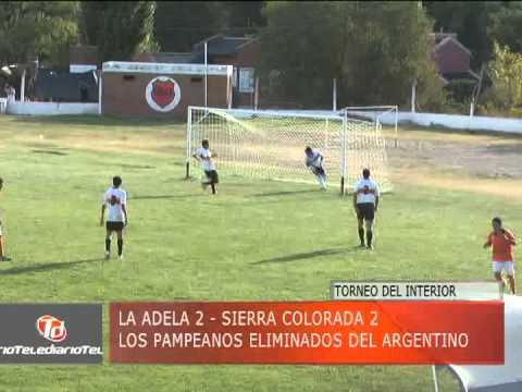 TELEDIARIO 25/03/14 - RESUMEN LA ADELA VS SIERRA COLORADA - TDI 2014