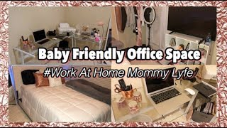 Transforming My Room Into a Baby Friendly Office Space | Room Tour 2018 [#6 - Season 3]