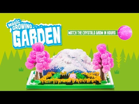 Magic Growing Garden Time Lapse from Tobar