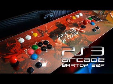 PS3 Arcade 32p com Analógicos