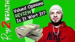 Valued Opinions Review | Is It Worth It? Valued Opinions Tutorial (2019)