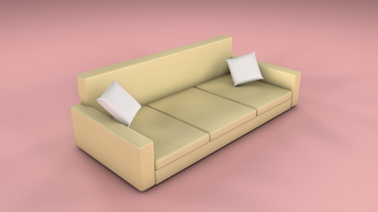 Sofa Erstellen Drummond Leather Cinema 4d Tutorial Youtube
