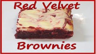 Red Velvet Brownies Recipe!