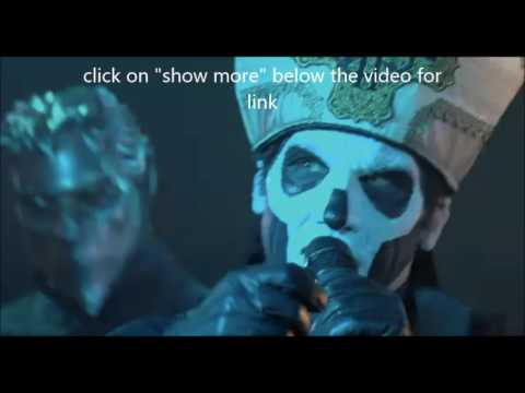 """Ghost's Papa Emeritus to appear unmasked for first time - Byzantine debut """"Trapjaw"""""""