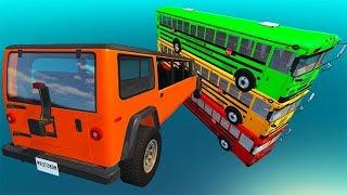 Beamng drive - High Speed Random Car Jumps #38