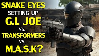 Snake Eyes is a G.I. Joe Reboot, Transformers and M.A.S.K. crossovers in the works