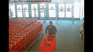 Target TV Theft