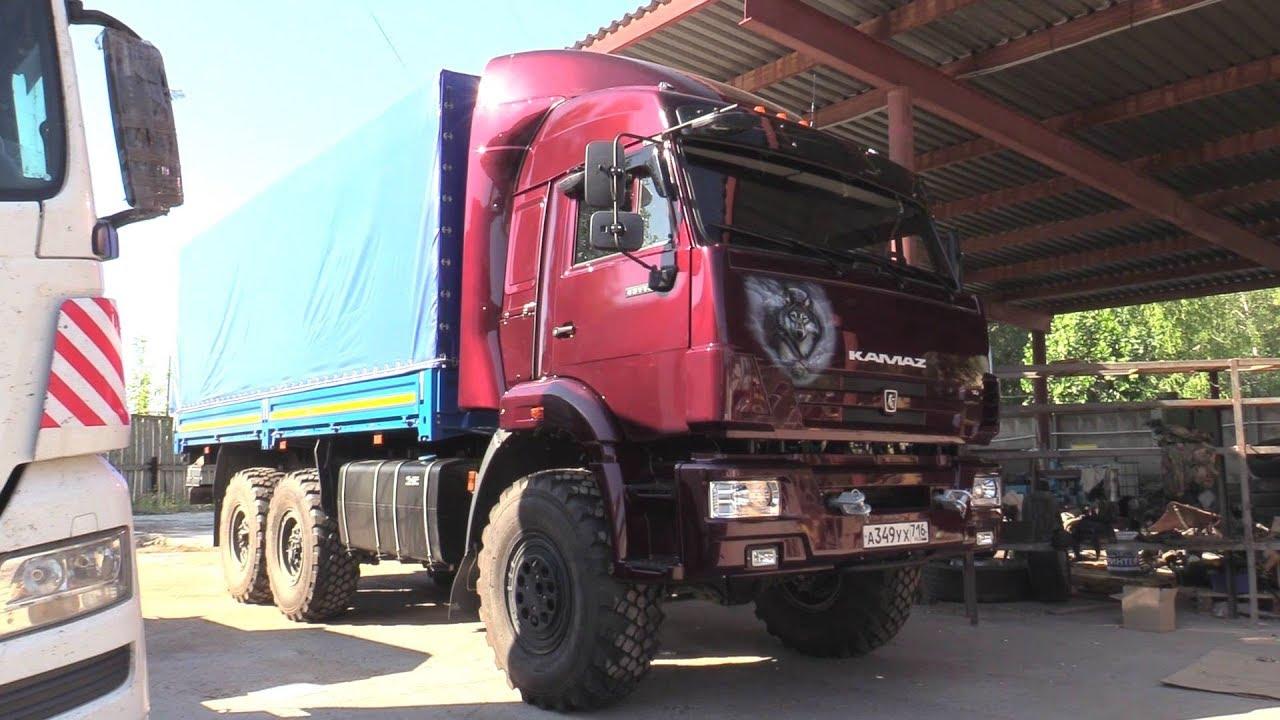 2018 КамАЗ-43118. Обзор (интерьер, экстерьер, двигатель).