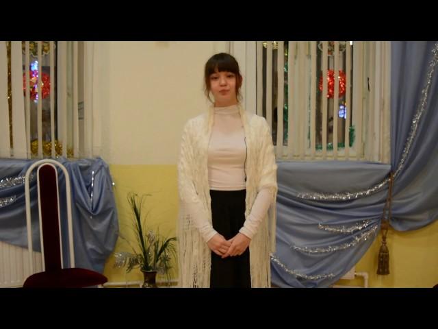 Изображение предпросмотра прочтения – ЕкатеринаБаева читает произведение «Сретение» И.А.Бродского
