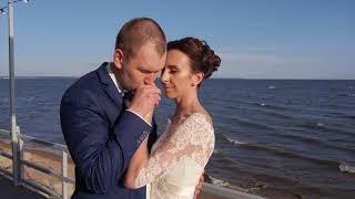 Красивая свадьба на берегу моря