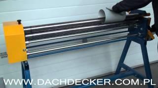 Sheet Metal Roller, Rolling Machine, Вальцы ручные, Rundbiegemaschine, Rouleuse, Zakružovačka(, 2014-10-31T08:23:59.000Z)
