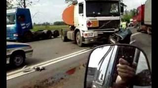 авария на московском шоссе, машину порвало