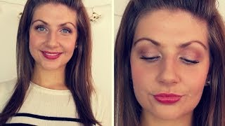 Tutorial ♥ Everyday Autumn/Winter Drugstore Makeup Thumbnail