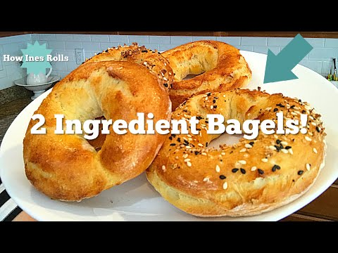 2 Ingredient Bagels!! | Easy Mother's Day Breakfast Ideas | *How Ines Rolls*