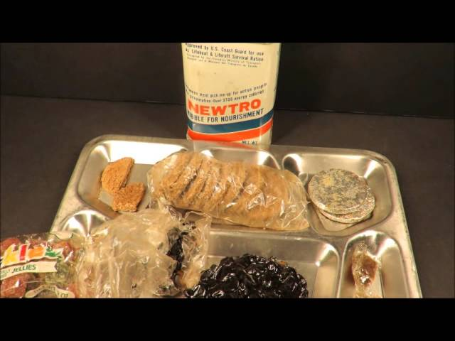 1977 Coast Guard Approved Newtro Survival Ration Emergency MRE Review From Stickyfingaz745 Old Food