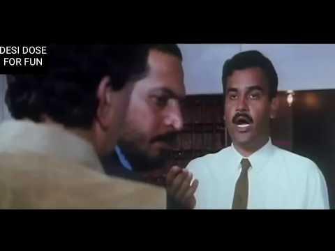 Nana Patekar and Rishi Kapoor comedy scene in Hum dono   Nana Patekar comedy  
