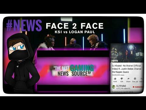 Ksi vs Logan Paul   #news   New music video   Alan Walker   Dj khaled    Fortnite Android  