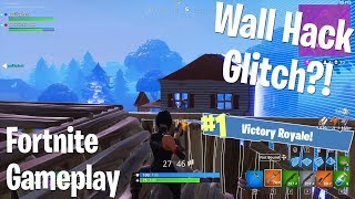 Wall Hack Glitch?! (Fortnite BRs) w/Gorillaphent