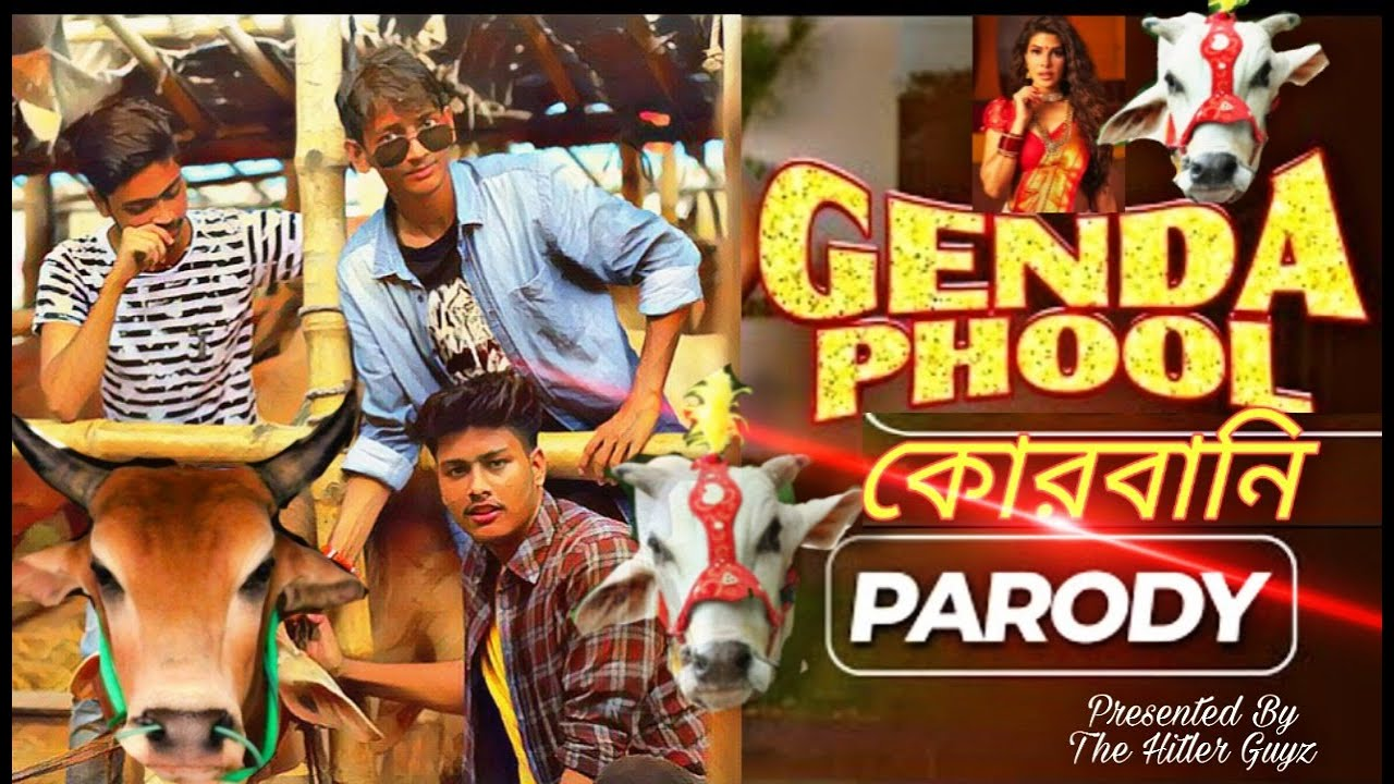Genda Phool Parody korbani song || Korbani Song 2020 || AriFin Hossain Riko || The Hitler Guyz
