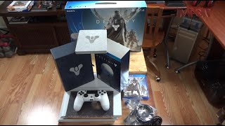 PS4 Destiny Bundle (Glacier White) & Limited Edition Destiny Unboxing