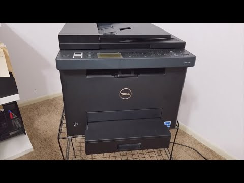 Dell E525w Laser Printer