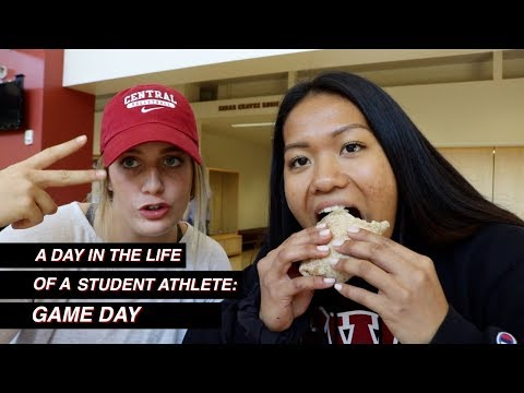 A Day in the Life of a Student-Athlete: Game Day | CWU Volleyball | Gabrielle Aihara