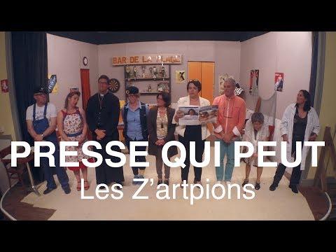 Presse Qui Peut - Les Z'artpions (Théâtre 2017)