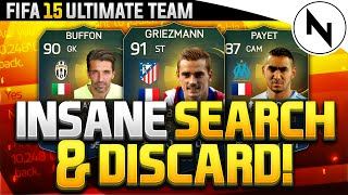 SEARCH AND DISCARD - DISCARDING TOTS  MESSI - NOOOO