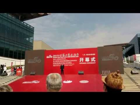 Opening of World Crafts Council in Dongyang 2014