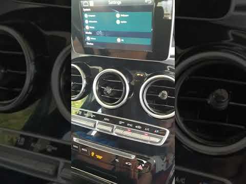 Wireless CarPlay And MP4 Video Player Mercedes GLC Audio 20