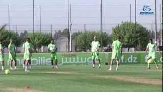 التحضيرات الأخيرة للفريق الوطني قبيل مباراة إثيوبيا