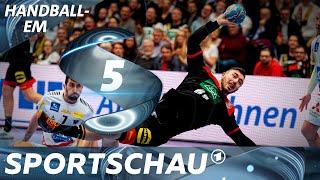 Die Top-Szenen aus Österreich gegen Deutschland   Handball-EM   Sportschau