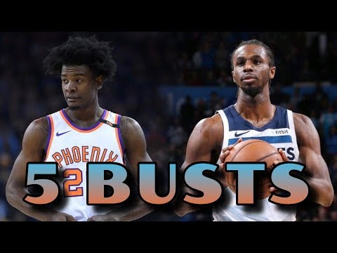 5 Current NBA Players Who Are NBA Draft BUSTS thumbnail