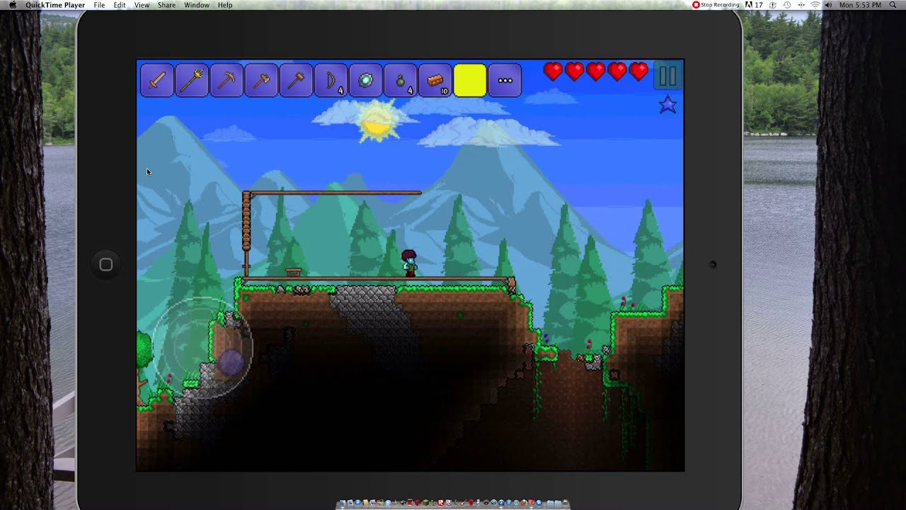 how to get bait in terraria ipad