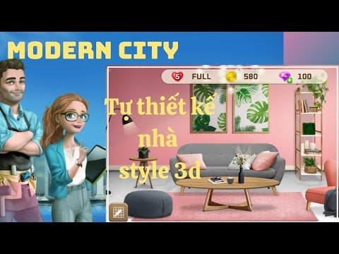 My Home Design - Modern City | Game thiết kế nhà theo ý thích, đồ họa đẹp nè bà kon!!