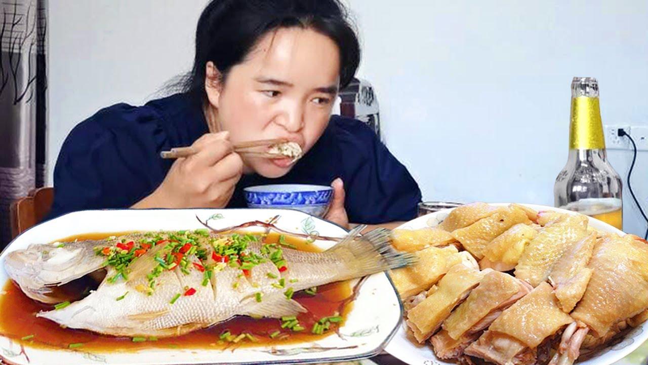 苗大姐到浙江农村游玩,厨艺着实厉害,一桌子菜个个都爱吃!【苗阿朵美食】