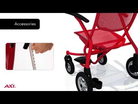Diamond Deluxe Rollator And Transport Chair Doovi