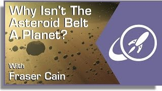 Why Isn't the Asteroid Belt a Planet?
