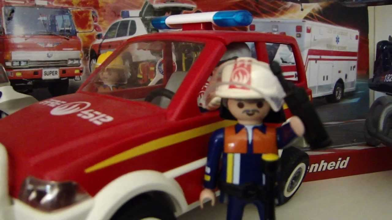 Playmobil pompier coloriage youtube - Playmobil pompiers ...